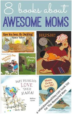 Books about Moms for preschoolers.