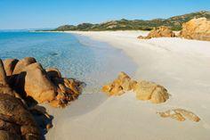 Travel + Leisure: Europe's Secret Beaches:  Bidderosa Beach, Orosei, Sardinia, Italy
