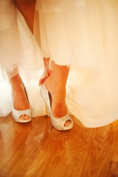 """Our favorite pair of sparkle """"diva"""" shoes, come see how they twinkle!"""