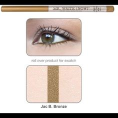theBalm Mr. Write (Now) Eyeliner pencil Jac - new and sealed The Balm Makeup Eyeliner
