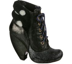 Irregular Choice Womens Krystal StarBlack LeatherFabricUS 95 M -- Read more reviews of the product by visiting the link on the image.