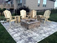 wood pallet firepit chairs