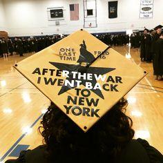 My Hamilton college graduation cap:)