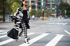 New York Fashion Week Spring 2015 Day 4 - New York Fashion Week Spring 2015 Street Style | W Magazine