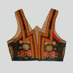 woman's bodice - Ethnographic Pattern Book
