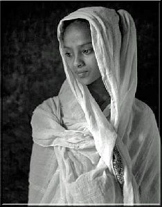 Africa: Ethiopian Orthodox Woman. The Christians of Ethiopia and Eritrea, have practiced their faith since ancient Christianity was first brought to Africa from Asia, unlike other African countries who were recently introduced to Christianity through European colonization.