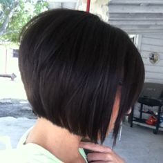 The graduated bob- my new summer time look ;)