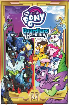 Look at that cover! It's beautiful! It's magnificent! It's… Wow,MLP villains really do come in one color.   Kotaku  revealed this mornin...
