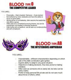 Blood type personality Blood Type Chart, Blood Types, Blood Type Personality, Behavior Goals, Cool Headed, Leadership Roles, Comic, Random, Comic Strips