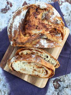 [kjøkkentjeneste]: Eltefritt brød med tomatpesto