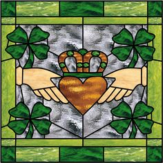 Celtic beautiful stained glass windows Photo | Custom Stained Glass, Beveled Windows & Lamps