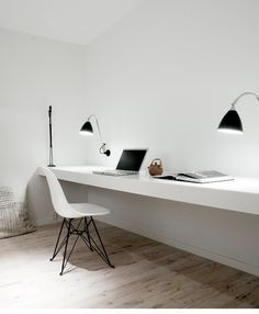 Wall to wall plank for a study desk. Shop here: www.hardtofind.com.au