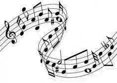 notas musicales siluetas - Buscar con Google