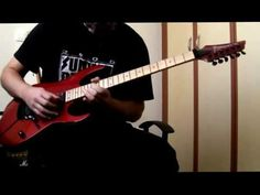 GUNS N' ROSES - Sweet child o' mine (guitar solo cover by Vangelis Vergos)