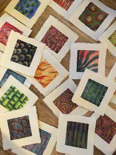 Sarah J. Loecker : Pattern and colour- A studio update Paper Installation, Vibrant Colors, Colours, Family Birthdays, Sarah J, Watercolour, Palette, Miniatures, Paper Crafts