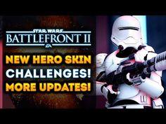 Star Wars Battlefront 2 - New Hero Skin Challenges Now Live! Level 50 Trophy, Jetpack Cargo & More!