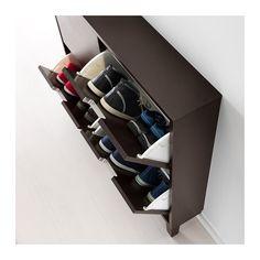STÄLL Range-chaussures 4 casiers - brun noir - IKEA