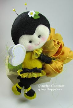 Abeja sentía (sintieron abeja) | bromea Artesanía