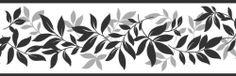 Fine Decor Wandbordüre Blätter, 125mm, Schwarz/Silber von Fine Decor, http://www.amazon.de/dp/B00C681GZ2/ref=cm_sw_r_pi_dp_vs0Xsb0MYWWBB