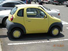 Tiny car in Japan