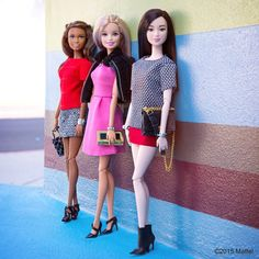 Wednesday is Friendsday! Tag your friends to let them know you are thinking of them.  #barbie #barbiestyle