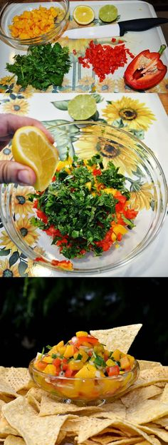 Lea's Cooking: Mango Salsa
