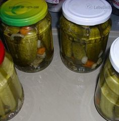 Pickles, Cucumber, Mason Jars, Canning, Food, Anna, Detail, Pickling, Home Canning