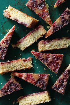 The last of the season: Blood Orange Upside-Down Cake via Bakers Royale
