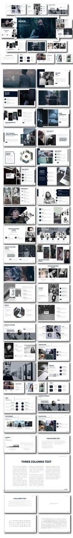 Kokia - Multipurpose Google Slide - Google Slides Presentation Templates