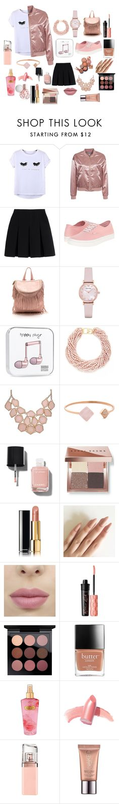 """My obsession"" by kyra-carbee ❤ liked on Polyvore featuring Chicnova Fashion, NLY Trend, Alexander Wang, Vans, Emporio Armani, Kenneth Jay Lane, Michael Kors, Chanel, Bobbi Brown Cosmetics and Benefit"