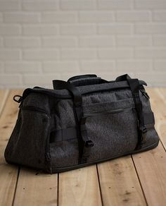 Toss out that busted up freebie gym bag he has and give him something fashion-forward and functional. Daily Sweat Duffel | lululemon