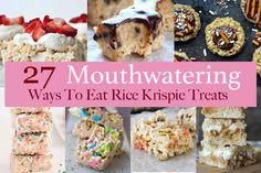 27 Mouthwatering Ways To Eat Rice Krispie Treats