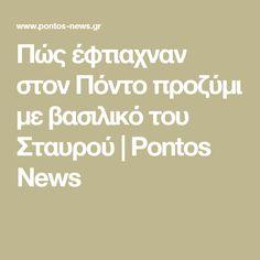 Πώς έφτιαχναν στον Πόντο προζύμι με βασιλικό του Σταυρού   Pontos News Pos, Math Equations