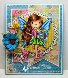 The Paper Nest: Fairy Avery with gift! Deborah Deruyck