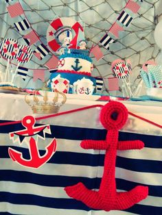 Nautico Birthday Party Ideas | Photo 4 of 10 | Catch My Party