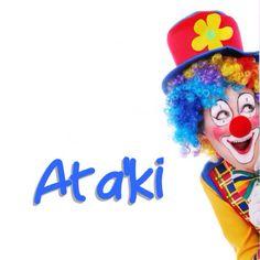 Here is | Ata'ki e payaso - Here is the clown! Visit: henkyspapiamento.com #papiamentu #papiaments #papiamento #language #aruba #bonaire #curaçao #caribbean #clown # payaso #palhaço