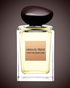 The Best Vetiver Fragrances for Men: Vétiver Babylone, Armani Privé