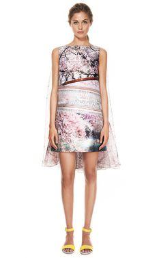 Silver Lake Jacquard Planet Dress by MARY KATRANTZOU for Preorder on Moda Operandi
