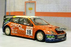 Scalextric Tecnitoys-Altaya RP-1. Citroen Xsara T4 WRC. Rally de Montecarlo 2003. Carlos Sainz-Marc Martí. #slotcar Cars 1, Slot Cars, Hot Wheels, Ferrari, Toyota Canada, Las Vegas, Deck Party, Pineapple Images, Kids Nutrition