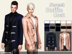 [심즈4] CC템 더플 코트 & 헤링본 코트 (Sweet Duffle Coat, Herringbone Coat) : 네이버 블로그