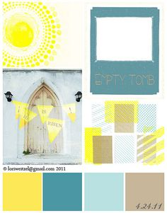Living room color palette: yellow, grey, tan & teal color palette for my living room