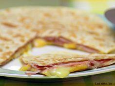 Receta Quesadilla de jamón york y queso, por Lasrecetasdemasero - Petitchef
