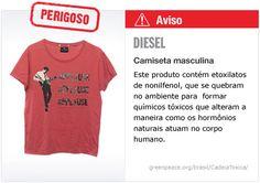 Diesel camiseta   #Detox #Moda