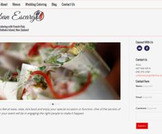 Wedding Catering with French Flair- Urban escargot Portfolio Website, Business Website, Business Design, Web Design, Catering, Urban, French, Design Web, French People
