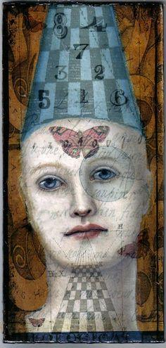 Fortune Teller Painting - Fortune Teller Fine Art Print - Kathleen Kendall