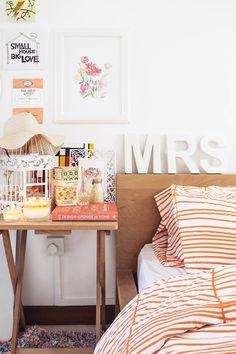 Lovely light and bright bedroom from design*sponge