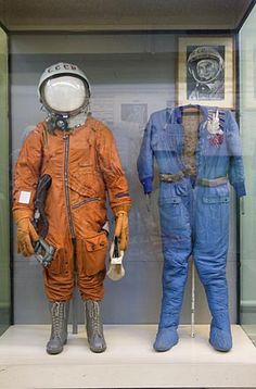 Valentina Tereshkova's space suit, worn during her mission in 1963 - Zvezda Museum, Moscow