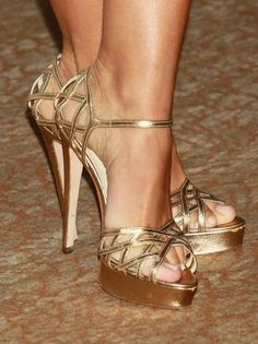 Gold Shoes - weddings
