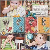 A Project by heathergw from our Scrapbooking Gallery originally submitted 01/31/12 at 04:06 PM