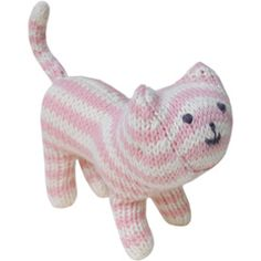 Blabla Rattle Cat Pink
